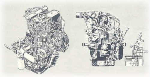 Mercedes Benz 220D engine 3
